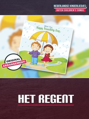 cover image of Het Regent