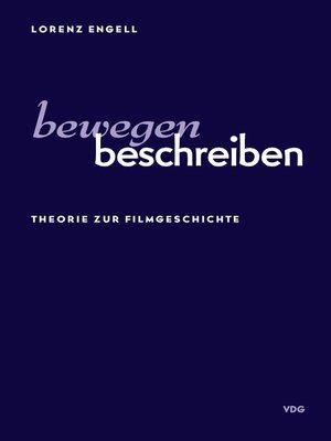 cover image of Bewegen Beschreiben