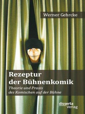 cover image of Rezeptur der Bühnenkomik