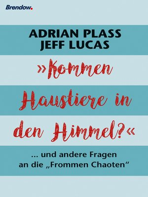 cover image of Kommen Haustiere in den Himmel?