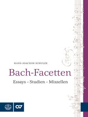 cover image of Bach-Facetten