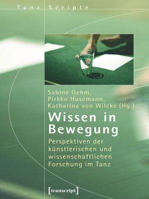 cover image of Wissen in Bewegung