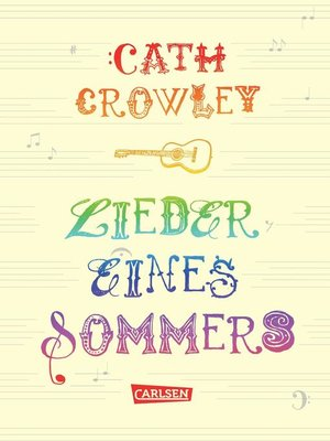 cover image of Lieder eines Sommers