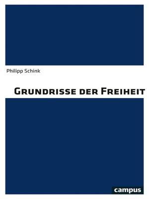 cover image of Grundrisse der Freiheit