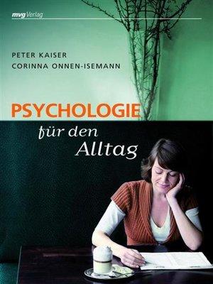 cover image of Psychologie für den Alltag