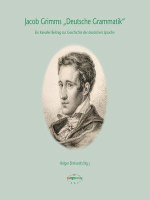 """cover image of Jacob Grimms """"Deutsche Grammatik"""""""