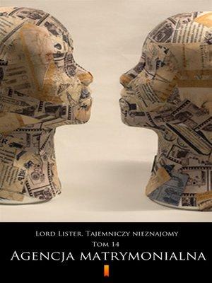 cover image of Lord Lister. Tajemniczy nieznajomy