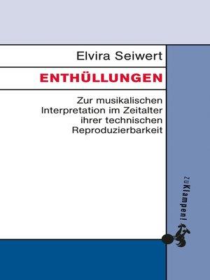 cover image of Enthüllungen