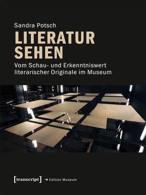 cover image of Literatur sehen