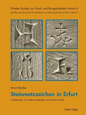 cover image of Steinmetzzeichen in Erfurt
