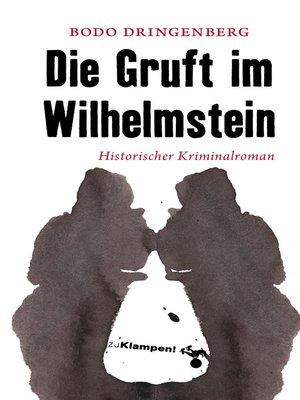 cover image of Die Gruft im Wilhelmstein