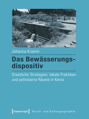 cover image of Das Bewässerungsdispositiv