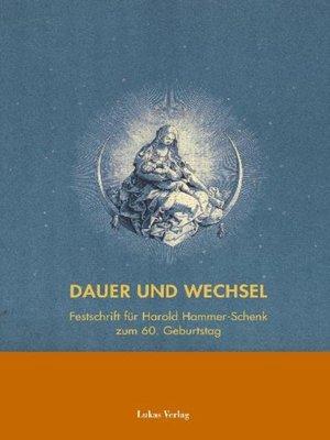 cover image of Dauer und Wechsel