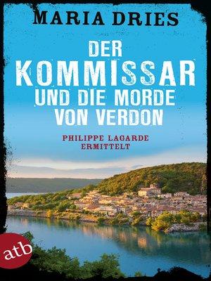 cover image of Der Kommissar und die Morde von Verdon