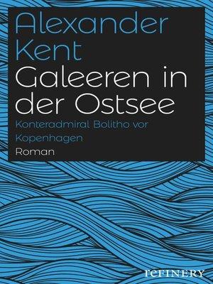 cover image of Galeeren in der Ostsee