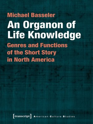 cover image of An Organon of Life Knowledge