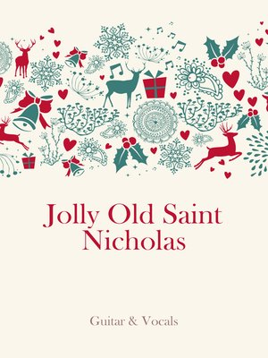 cover image of Jolly Old Saint Nicholas