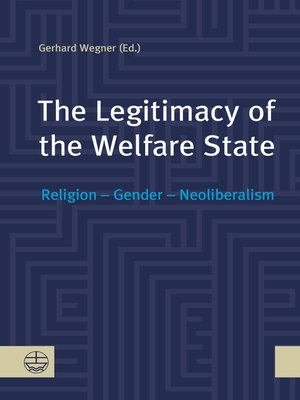 cover image of The Legitimacy of the Welfare State