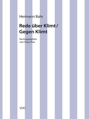 cover image of Rede über Klimt /Gegen Klimt