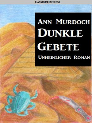 cover image of Dunkle Gebete