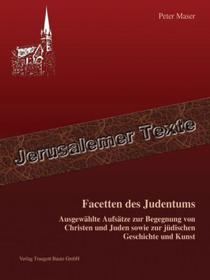 cover image of Facetten des Judentums