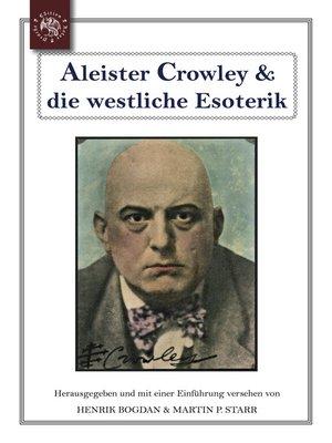 cover image of Aleister Crowley & die westliche Esoterik