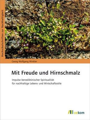 cover image of Mit Freude und Hirnschmalz