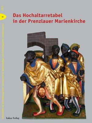 cover image of Das Hochaltarretabel in der Prenzlauer Marienkirche