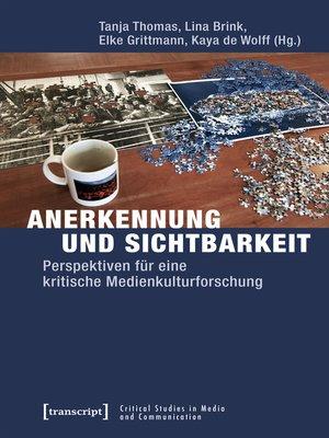 cover image of Anerkennung und Sichtbarkeit