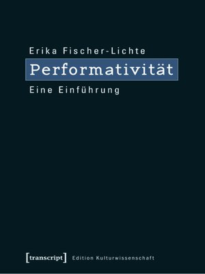 cover image of Performativität