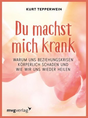cover image of Du machst mich krank