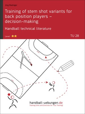 cover image of Training of stem shot variants for back position players – decision-making TU (28)