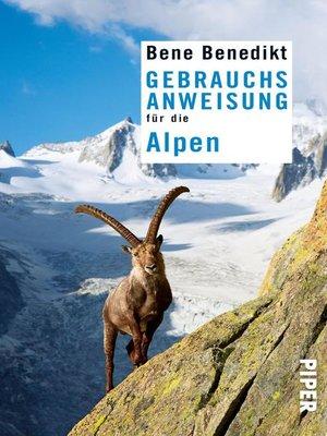 cover image of Gebrauchsanweisung für die Alpen