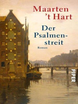 cover image of Der Psalmenstreit