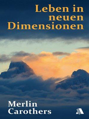 cover image of Leben in neuen Dimensionen