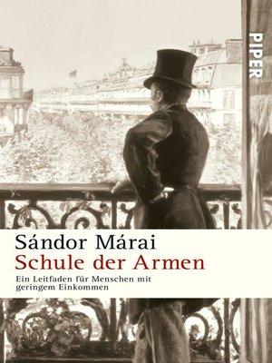 cover image of Schule der Armen