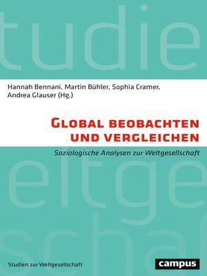 cover image of Global beobachten und vergleichen