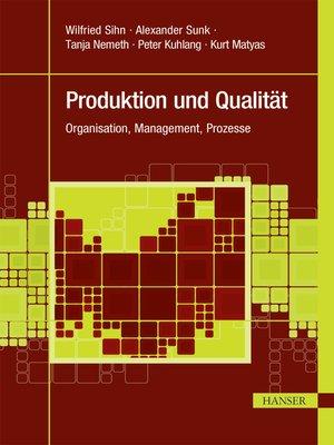 cover image of Produktion und Qualität