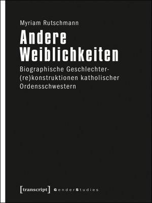 cover image of Andere Weiblichkeiten
