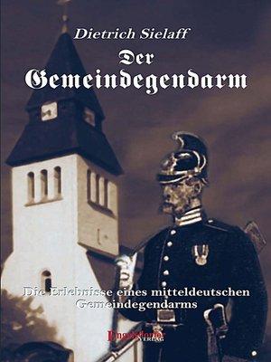 cover image of Der Gemeindegendarm