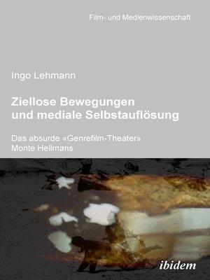 cover image of Ziellose Bewegungen und mediale Selbstauflösung – Das absurde «Genrefilm-Theater» Monte Hellmans
