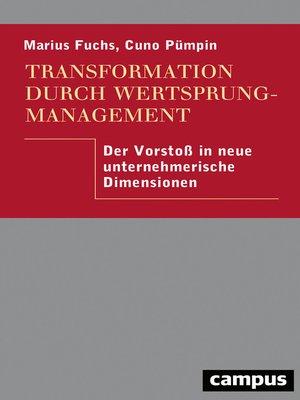 cover image of Transformation durch Wertsprungmanagement