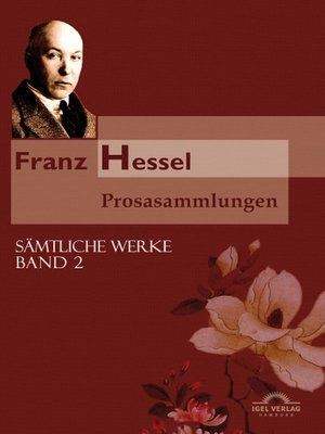 cover image of Franz Hessel