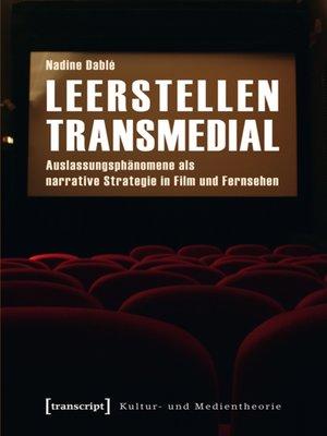 cover image of Leerstellen transmedial