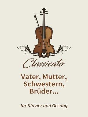 cover image of Vater, Mutter, Schwestern, Brüder...