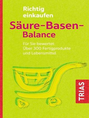 cover image of Richtig einkaufen Säure-Basen-Balance