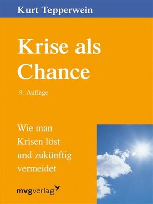 cover image of Krise als Chance