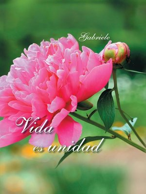 cover image of Vida es unidad