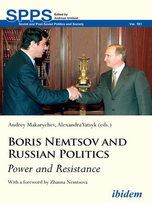 cover image of Boris Nemtsov and Russian Politics