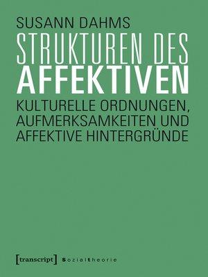 cover image of Strukturen des Affektiven